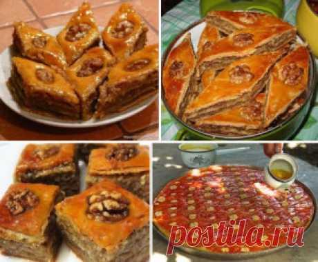 Лучшие кулинарные рецепты - Пахлава