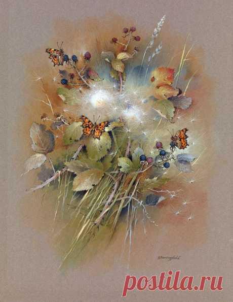 Притча о бабочке. Художник Gordon Beningfield.