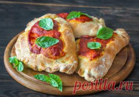 Пицца «Кальцоне» с ветчиной | Новости, обзоры, акции в интернет-магазине TOP SHOP