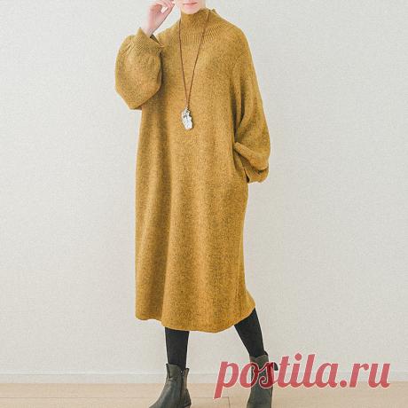 8 женственных платьев для осени
