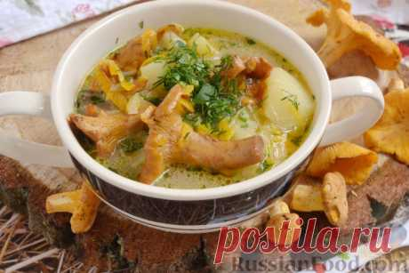 Грибной суп – блюдо с особым вкусом!