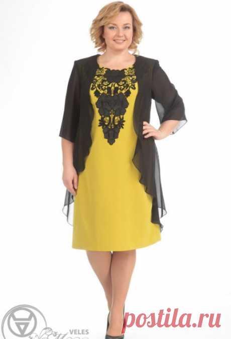 110d78e3e88 Нарядные платья для полных женщин белорусской компании Pretty. Весна ...