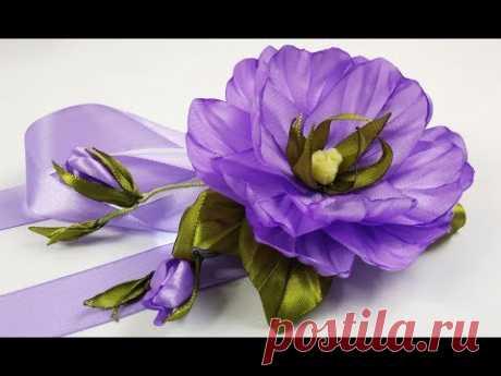 Ribbons вeautiful flowers \/ Hermosa flor de las cintas\/la flor simplemente hermosa de las cintas