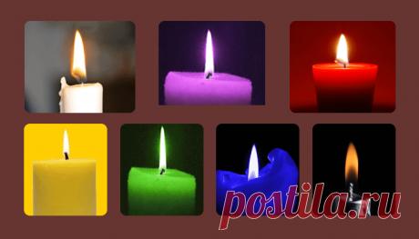 Выберите свечу и узнаете о себе много интересного!