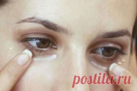Mask with baking soda a mask against bags under eyes, dark circles and swelled up a century – the Recipe!