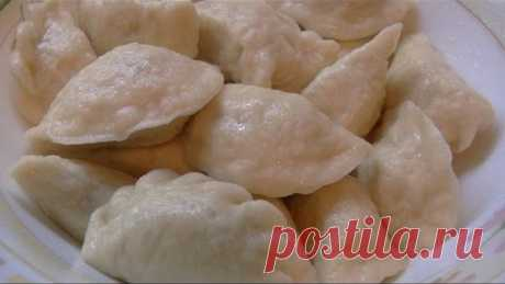 Дрожжевое тесто для вареников/ Yeast dough for dumplings