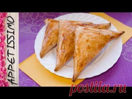 Быстрые хачапури из слоеного теста. Пеновани / Penovani (Puff Pastry) Khachapuri