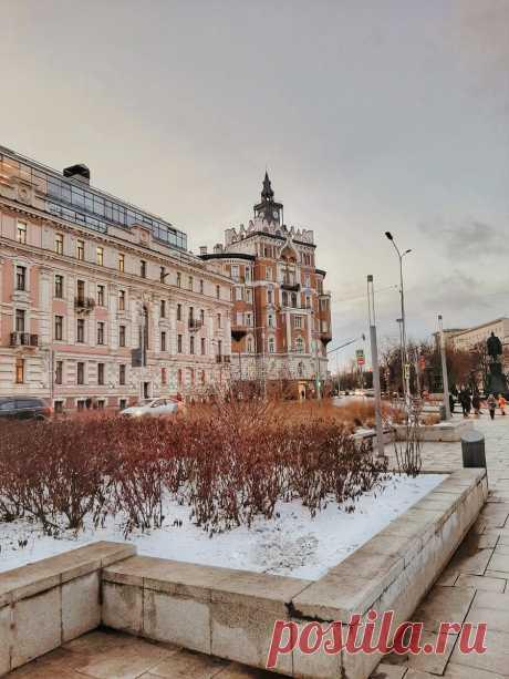 Прогулка от Мясницкой до Огородной слободы (пешеходный маршрут)   Seeyouinmoscow   Яндекс Дзен