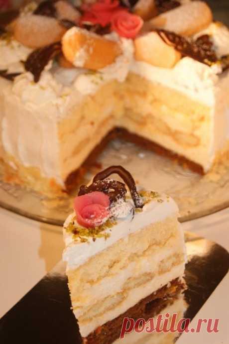 торт Malakoff(Малакофф) пошаговый рецепт с фотографиями