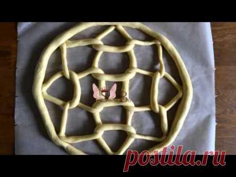 Hungarian Twist Bread (Kulcsos kalács) by SugarBreads