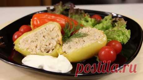 Фаршированный перец «Нежность»: отличная идея для обеда