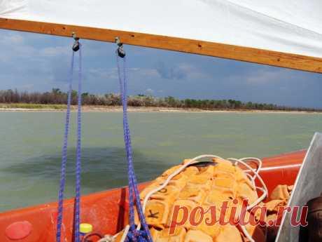 Яхта, море Азовское, летний берег на косе... - 22 Июня 2016 - Персональный сайт