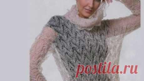 Вязание из тонкого мохера и ангоры спицами для женщин.Идеи. Вязание из тонкого кид мохера и ангоры всегда было модным женственным и гламурным.Современная вязаная мода разрабатывает новые тенденции и направления в изго...