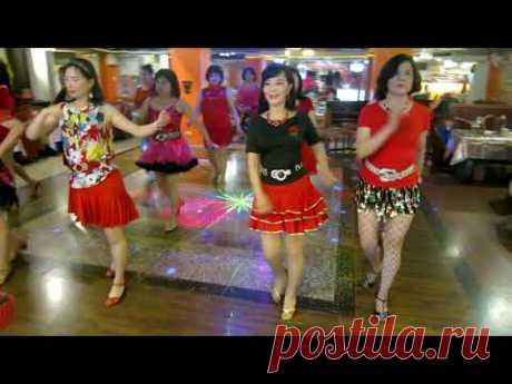 Night Tango Line Dance(By Andrico Yusran, Irene Argoputro , Yudha Alfatar ...)