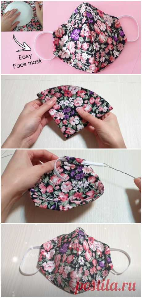 DIY Face Masks Hand Sewing - Crafts Time