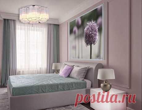 Ещё одна спальня с ярким, стильным постером над изголовьем кровати! Хотите себе такую спальню???? Обращайтесь!!!!!!;) #дизайнспальни #дизайнпроект #спальнямечты #спальнядизайн #дизайнербелоусовасветлана #помощьдизайнера #ремонтквартир