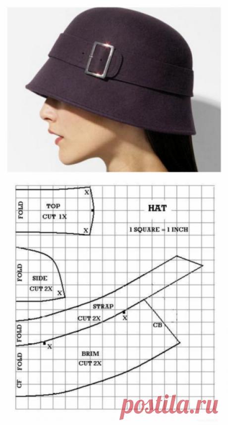 Элегантные шляпки с узкими полями