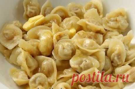 Fast, tasty, in a word — the best dough for pelmeni!