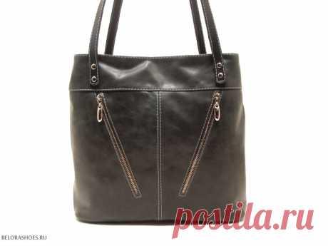 Сумка-рюкзак женская Трио 3 Удобная сумка с двумя независимыми отделениями и возможностью одевать как рюкзак