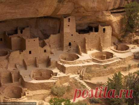 Скальные пещеры Меса-Верде