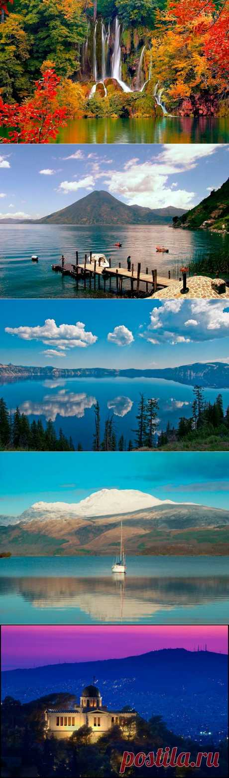 10 самых красивых озер в мире | Непутевые заметки