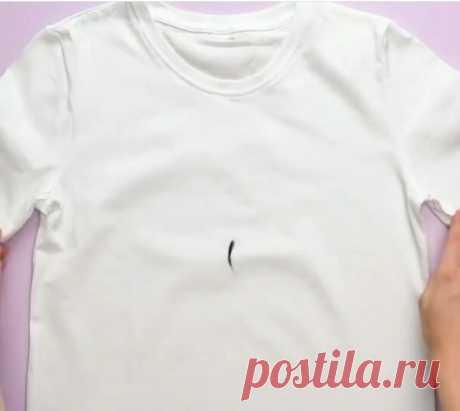 Как просто сделать надпись на футболке МК