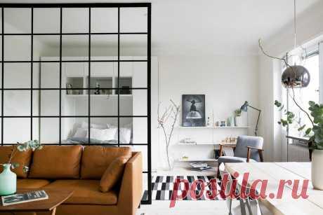 Как зонировать интерьер однокомнатной квартиры | Роскошь и уют
