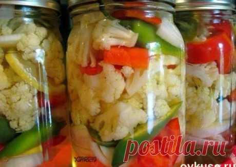 Вкуснейшая маринованная цветная капуста - пошаговый рецепт с фото. Автор рецепта Юлия Устименко . - Cookpad