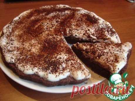 """Лёгкий торт """"Тает во рту"""" - кулинарный рецепт****** Кефир (250 мл ) — 1 стак. Сода (без горки, гасить не надо) — 1 ч. л. Сахар (можно меньше ) — 1 стак. Мука пшеничная (250 мл ) — 1 стак. Какао-порошок — 2 ст. л."""