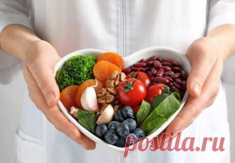 ღ10 продуктов, снижающих риск сердечно-сосудистых заболеваний.