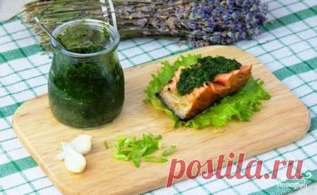 Cilantro sauce - the step-by-step recipe from a photo on Повар.ру