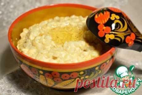 "Pearl-barley ""Лучшая porridge from лучших"" - culinary recipe"
