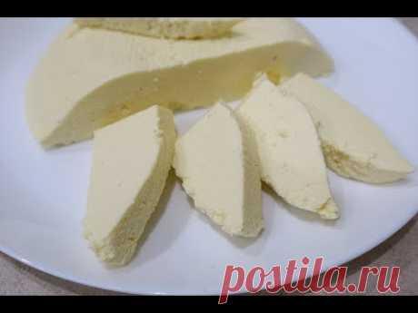 Адыгейский Сыр в Домашних Условиях за 15 минут из 3 основных Ингредиентов