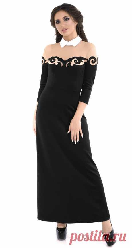 Платье № 7316-3225 - Платье норма 42-48 - Модные вечерние платья: купить недорого у производителя в розницу, доставка по Украине | Lemanta.com