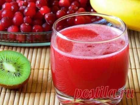 Как сделать клюквенный МОРС из замороженной ягоды | Кулинарные записки обо всем | Яндекс Дзен