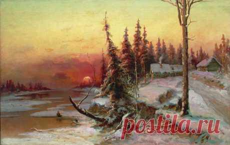 Зимние пейзажи Юлия Клевера
