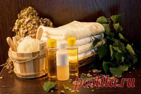 Правила применения эфирных масел в бане (сауне)...