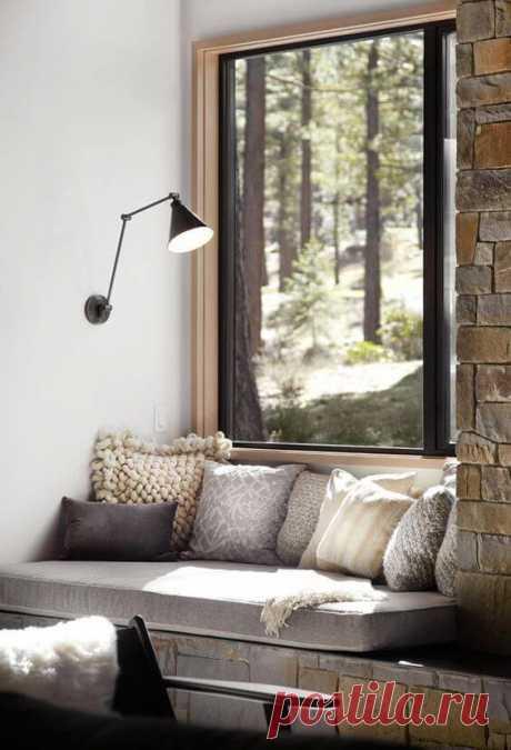 Зона отдыха у окна: 30 идей модного тренда ~ ALL-DEKOR