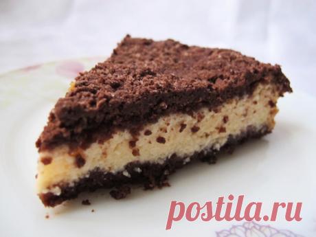 Творожный пирог с песочной крошкой — кулинарное чудо