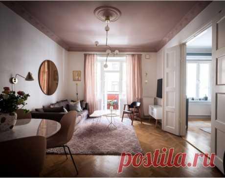 Скандинавы не перестают удивлять всё новыми способами сделать их типичные квартиры в красивых классических домах уникальными