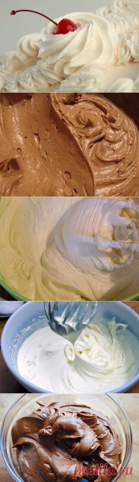 8 кремов для тортов   Очень вкусно