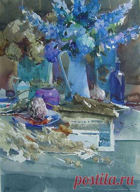 Piet Lap. Прекрасные акварели