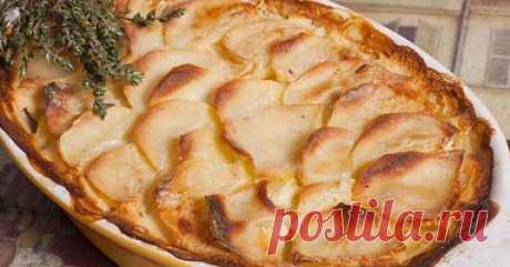 Картофель «Дофинуа»: королевское блюдо, которое язык не повернется назвать гарниром!
