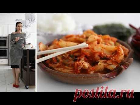 Кимчи Свёкла Капуста - Дегустирую Соленье - Рецепт от Эгине - Heghineh Cooking Show in Russian