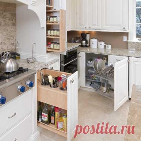 Эффективные способы организации кухонных ящиков Занимаясь ремонтом кухни мы, в первую очередь, думаем о ее внешнем виде, выбираем фактуру, форму и цвет фасадов, при этом вопрос о функциональном наполнении шкафов и ящиков уходит на второй …