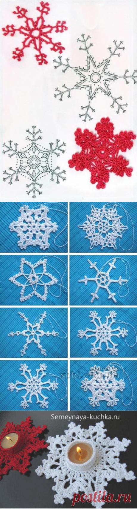 La búsqueda sobre el Postlimo: los copos de nieve tejidos