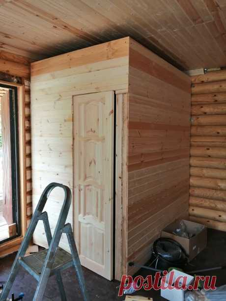 Хватит бегать на улицу! Строительство санузла в деревянном доме | Даня на даче: строю и показываю! | Яндекс Дзен