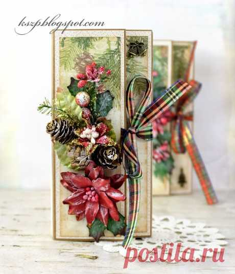 Wild Orchid Crafts: Chocolate Christmas Cards