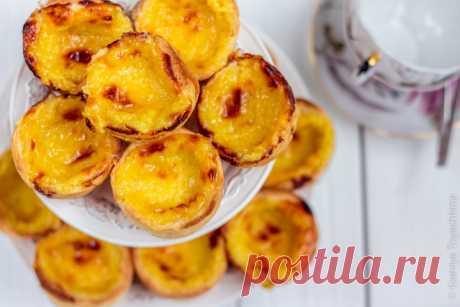 """Португальский десерт """"Паштел де ната"""" (Pastel de nata) - рецепт с фото - FoodForLife Этим летом мы были в Англии на русско-португальской свадьбе, где я и познакомилась с божественно вкусным десертом """"Паштел де ната""""."""