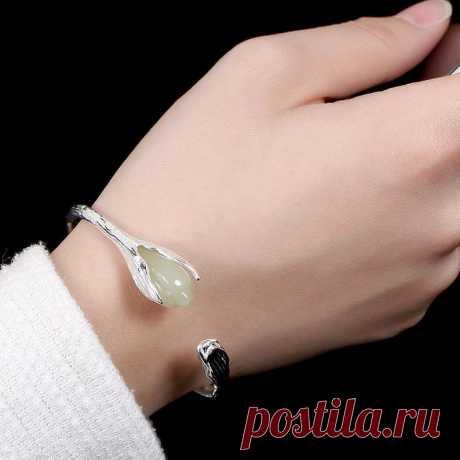 Silver Cuff Bracele-open bracelet-silver bracelet   Etsy